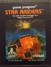 Star Raiders ATARI VCS 2600 (modulo-PICTURE LABEL)