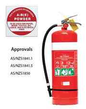 FIRE EXTINGUISHER SALE - 4.5kg ABE (DCP) Dry Chemical Powder Fire Extinguisher