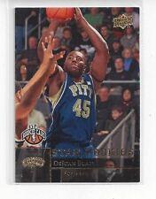 2009-10 UPPER DECK BASKETBALL INSERT STAR ROOKIES GOLD DEJUAN BLAIR #203 - SPURS