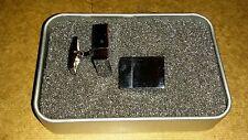 Silver USB 8GB Flash Drive Functional Cufflinks + Box