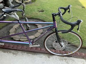 VINTAGE MINT CONDITION SANTANA SOVEREIGN ROAD TANDEM BIKE SHIMANO ULTEGRA XTR