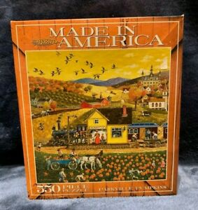 Parkville Pumpkins 550 Piece Puzzle Made in America Brand NEW Sealed