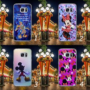 DISNEY MICKEY MINNIE MOUSE PATERN QUOTE HARD PHONE CASE COVER FOR SAMSUNG HUAWEI