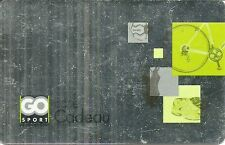 RARE / CARTE CADEAU : GO SPORT - MULTISPORT BOUTIQUE SHOP BASKET VELO FOOT /CARD