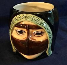 "NEW! Beautiful Al Jaber Arab Lady 4"" Coffee or Tea Mug/Cup - FREE SHIPPING!!!"