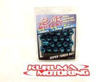 MUTEKI BLUE OPEN END 12X1.5 LUG NUTS SET OF 20 #1