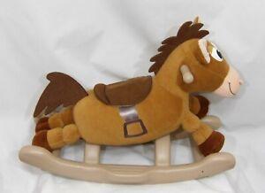 "DISNEY PIXAR TOY STORY KIDDIELAND 22"" MY ROCKING BULLSEYE HORSE SOUNDS MUSIC WOW"