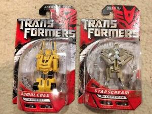 Transformers: Autobot BUMBLEBEE! Series 7. STARSCREAM! Series 9. Unopened!