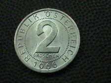 AUSTRIA 6-PIECE UNCIRCULATED COIN SET, 2-5-10-50 GR; 1-2C