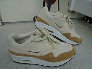 Nike Air Max 1 Premium SC Shoes AA0512-200 Beach Gold Women's Size 6 Rare
