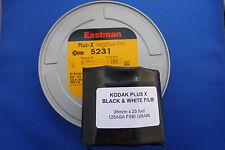 35mm BULK FILM 25feetX35mm KODAK PLUS X 125ASA B&W FILM