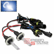 10000K BRIGHT BLUE HID XENON REPLACEMENT 9004 BULB LOW BEAM HEADLIGHT/LAMPS