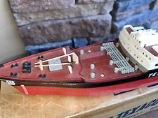 Wen Mac S.S.Texaco North Dakota Oil Tanker Ship Battery Toy Boxed