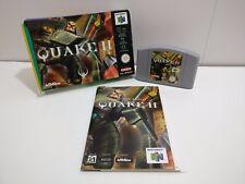 Quake II-N64-Nintendo-en Caja-Completo