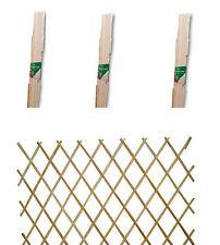 Set di 3 in espansione in legno giardino pianta rampicante Spalliera Arrampicata RECINZIONE 6ft x 3ft