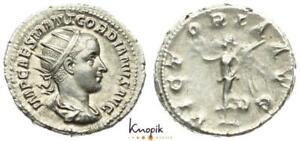 Römische Kaiserreich, Gordian III. Pius, Antoninian 238/239, Rom, RIC 5, 4,87g.