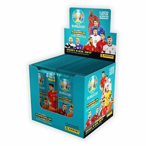 2020-21 Panini Euro Cup 2020 Adrenalyn Soccer Cards 50 Pack Box