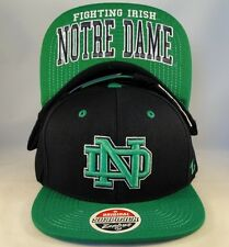 NCAA Notre Dame Fighting Irish Snapback Hat Cap Zephyr Undercard