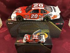TONY STEWART #20 Coca Cola Polar Bear 2001 RCCA 1/24 Elite 1/64 Car Diecast  SET