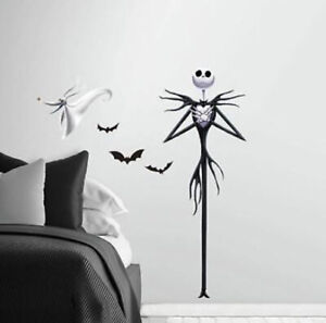 NIGHTMARE BEFORE CHRISTMAS wall stickers MURAL 7 decals JACK Disney decor