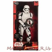 New Disney Store Star Wars Force Awakens Talking Stormtrooper Action Figure 14""