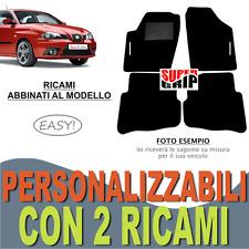 PER SEAT IBIZA (3) TAPPETI AUTO SU MISURA MOQUETTE E FONDO GOMMA + 2 RICAMI EASY