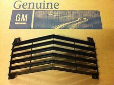 68 69 C3 CORVETTE FRONT CENTER BLACK PLASTIC GRILLE NEW GM