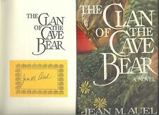 THE CLAN OF THE CAVE BEAR Jean M Auel Signed 1st/2nd