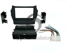 Radio Stereo Installation Mounting Dash Kit Combo SD/DD + Wire Harness HY7