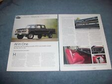 "1977 Ford Pickup F-250 Crew Cab XLT 4x4 Article ""All In One"""