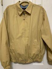GANT USA Peached Windcheater Jacket Coat Windbreaker Yellowish Khaki M