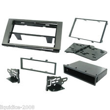 CT24FD38 FORD C-MAX 2004 to 2011 CHARCOAL GREY SINGLE OR DOUBLE DIN FASCIA KIT