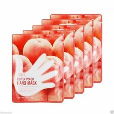 Tonymoly Lovely Peach Hand Mask 5 set Moisturizing Glove Type