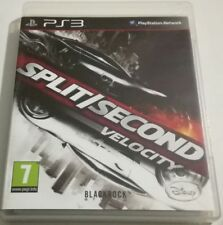 SPLIT SECOND VELOCITY PS3 PLAYSTATION 3 ITALIANO BUONO SPED GRATIS SU + ACQUISTI