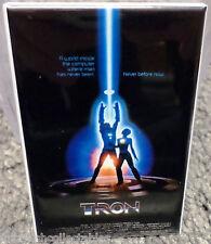 "Tron Vintage 80's Movie Poster 2"" x 3"" Refrigerator Locker MAGNET"