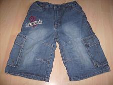 DOGNOSE Jungen Jeans Bermuda Shorts DUNKELBLAU DENIM Gummibund Gr.134 *w.NEU*