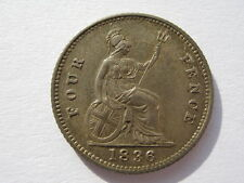 More details for 1836 silver groat or fourpence a unc