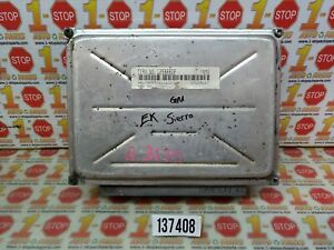 2003-2007 GMC SIERRA 3500 ENGINE COMPUTER MODULE ECU ECM 12582802 OEM