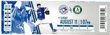 2013 Blue Jays vs Oakland A's Ticket: Brandon Moss HR/Alberto Callaspo tiebreak