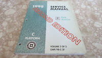 OEM 1998 Buick Park Avenue Second Ed. Service Manual Vol 2/3  1092