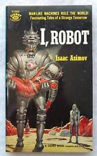 I, Robot by Isaac Asimov (Paperback, 1956) Signet First Printing #S1282 SciFi