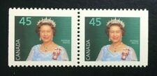 Canada #1360ixs CP MNH, Queen Elizabeth II Booklet Pair of Stamps 1995