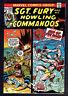 1974 Marvel Sgt. Fury #116 FN 1975 #124 FN+ 1990 DC Blackhawk #10 VF+ #11 VF/NM