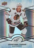 2018-19 Upper Deck Ice Hockey #36 Jonathan Toews Chicago Blackhawks