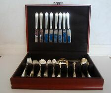 1939 RARE WINDERMERE  Simpson, Hall, Miller & Co.Sterling Silver Set of 8 MONOGR