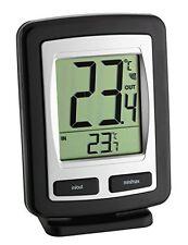 TFA Dostmann Funk-Thermometer Zoom Inklusive Außensender Max-Min-Funktion NEU