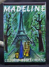 """Madeline Book Cover 2"""" X 3"""" Fridge / Locker Magnet. Ludwig Bemelmans"""