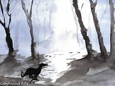 Fridge Magnet Greyhound Whippet Lurcher Dog Xmas Gift Christmas Stocking Filler
