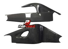 02-10 CARBON SWINGARM SWING ARM COVERS PROTECTORS HONDA VTR SP2 RVT1000R 2002-