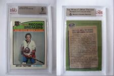 1976-77 Topps #67 Bryan Trottier record breakers RC BVG 9 MINT Rookie pop 1/1?
